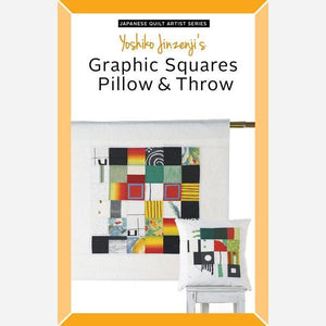 Graphic Squares Pillow & Throw – Paper Quilt Pattern
