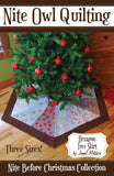 Hexagon Tree Skirt - PDF Quilt Pattern