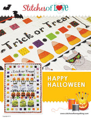 Happy Halloween - PDF Quilt Pattern by Stitches of Love