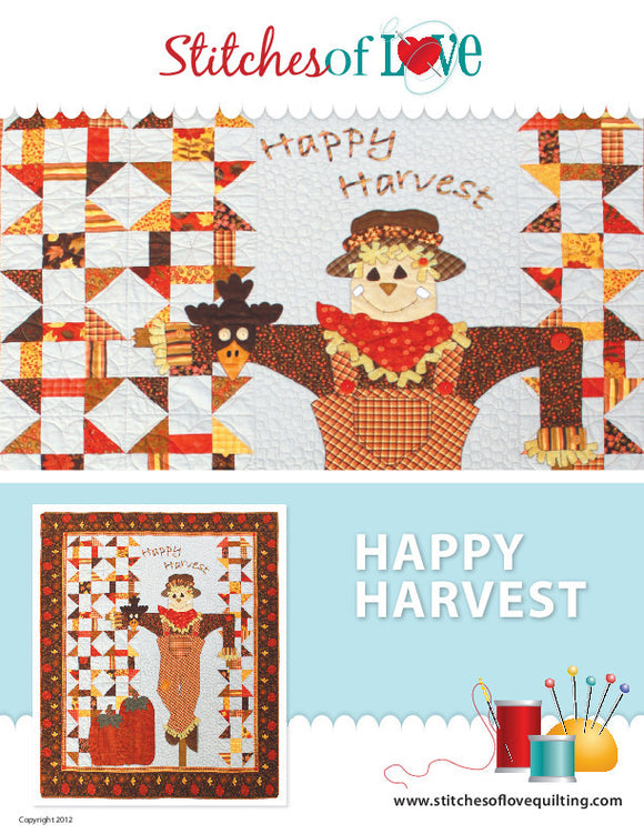 Happy Harvest - PDF Quilt Pattern