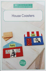 House Coasters - Accessory Pattern from Zakka Workshop Patterns by Yoko Saito for World Book Media