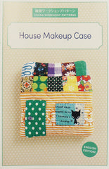House Makeup Case - Accessory Pattern from Zakka Workshop Patterns for World Book Media