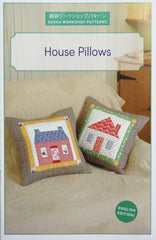 House Pillows - Accessory Pattern from Zakka Workshop Patterns by Yoko Saito for World Book Media