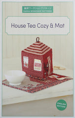 House Tea Cozy & Mat - Accessory Pattern from Zakka Workshop Patterns for World Book Media