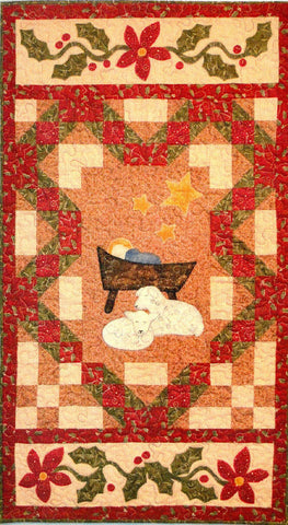 In the Manger Banner - PDF Quilt Pattern