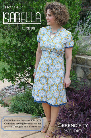 Isabella Dress – Printed Apparel Pattern