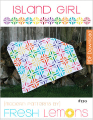 Island Girl - Paper Quilt Pattern by Fresh Lemons Quilts