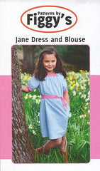 Jane Dress and Blouse by Patterns by Figgy's