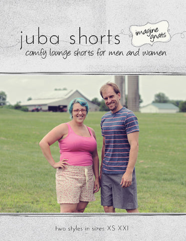 Juba Shorts - PDF Apparel Pattern