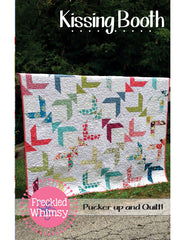 Kissing Booth - PDF Quilt Pattern by Freckled Whimsy