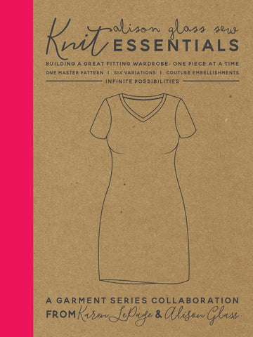 Alison Glass Sew Knit Essentials - Printed Apparel Pattern