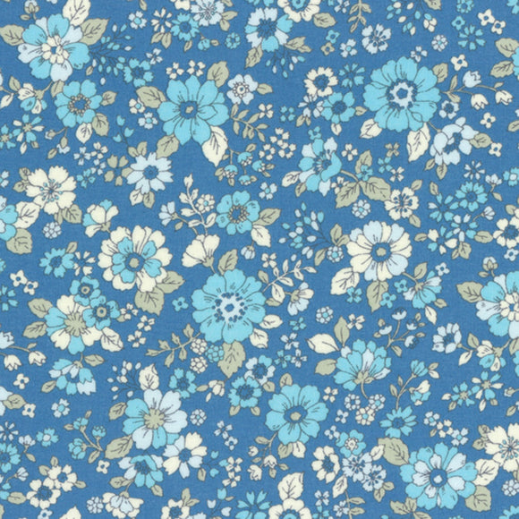 Memoire A Paris 2017 Blossoms Lawn in Blue
