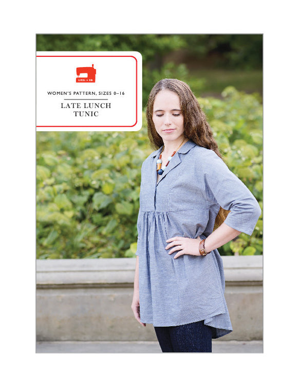Late Lunch Tunic - PDF Apparel Pattern