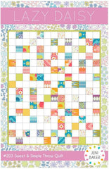 Lazy Daisy - PDF Quilt Pattern from Dreamin' Vintage by Jeni Baker for Art Gallery