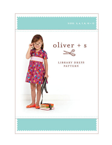 Library Dress 5 - 12 - PDF Apparel Pattern