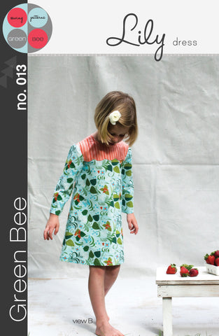 Lily Dress - Printed Apparel Pattern