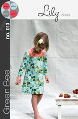 Lily Dress - Printed Apparel Pattern by Green Bee Patterns