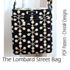 Lombard Street Bag - PDF Accessory Pattern by ChrisW Designs