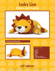 Lucky Lion - PDF Accessory Pattern by DIY Fluffies