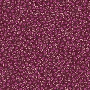 MAF-79202 Mayfair Promenade in Plum by Amy Sinibaldi for Art Gallery Fabrics at Pink Castle Fabrics