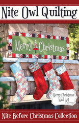 Merry Christmas - PDF Quilt Pattern by Nite Owl Quilting