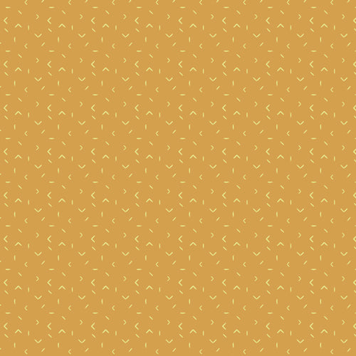 MTM-9200 Matchmade Indication in Gold by Pat Bravo for Art Gallery Fabrics from Pink Castle Fabrics