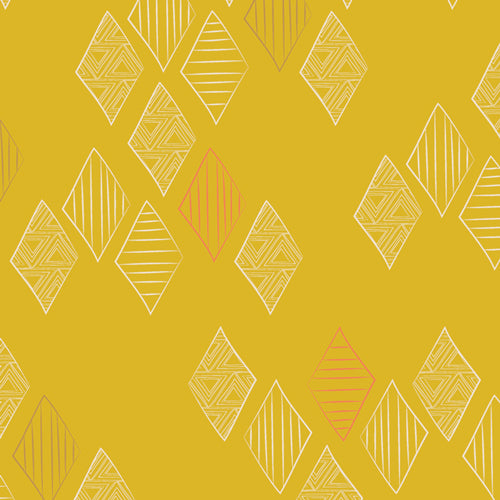 MTM-9202 Matchmade Quartz in Gold by Pat Bravo for Art Gallery Fabrics from Pink Castle Fabrics