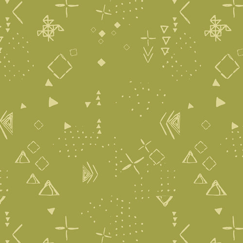 MTM-9301 Matchmade Thoughts in Foliage by Pat Bravo for Art Gallery Fabrics from Pink Castle Fabrics