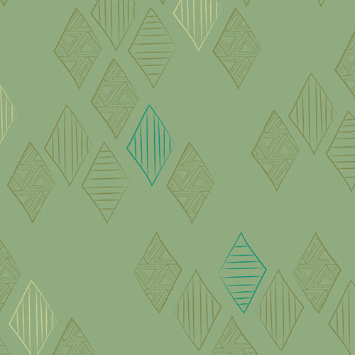 MTM-9302 Matchmade Quartz in Foliage by Pat Bravo for Art Gallery Fabrics from Pink Castle Fabrics