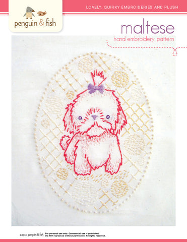 Maltese - PDF Accessory Pattern
