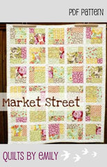 Market Street - PDF Quilt Pattern by Quilts By Emily