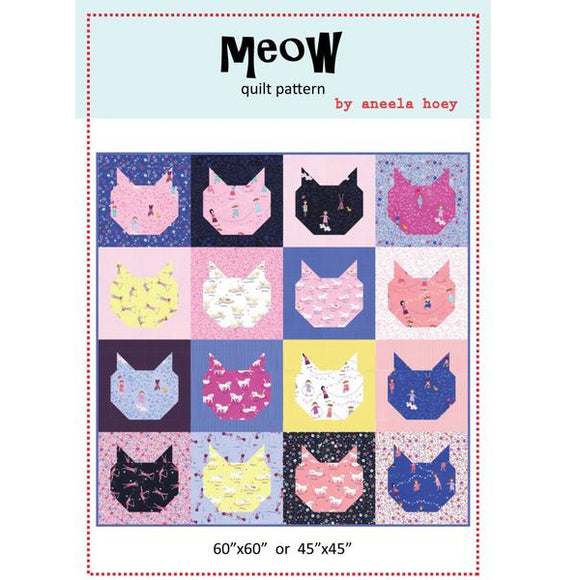Meow - PDF Quilt Pattern
