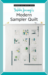Modern Sampler Quilt – Paper Quilt Pattern from Japanese Quilt Artist Series by Yoshiko Jinzenji for World Book Media