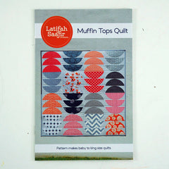 Muffin Tops Quilt - Paper Quilt Pattern from Grafic by Latifah Saafir Studios for Hoffman Fabrics