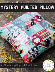 Mystery Quilted Pillow - PDF Accessory Pattern from Dreamin' Vintage by Jeni Baker for Art Gallery