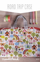 Road Trip Case - Paper Accessory Pattern by Noodlehead Patterns
