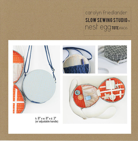 Nest Egg Tote – Paper Accessory Pattern