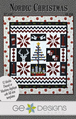 Nordic Christmas - PDF Quilt Pattern by GE Designs