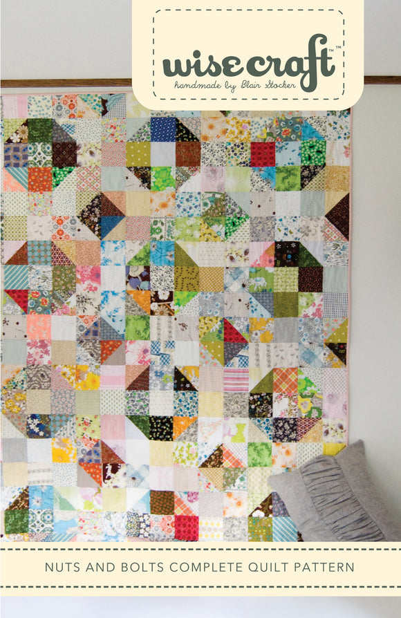 Nuts and Bolts - PDF Quilt Pattern