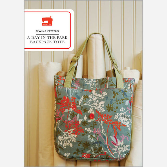 A Day In The Park Backpack Tote - PDF Bag Pattern