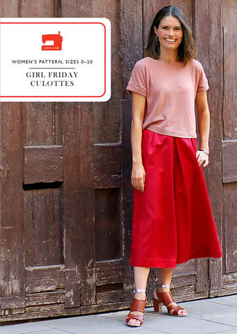 Girl Friday Culottes - PDF Apparel Pattern