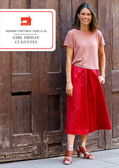 Girl Friday Culottes - PDF Apparel Pattern from Liesl and Co by Oliver And S