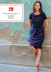 The Bistro Dress - PDF Apparel Pattern from Liesl and Co by Oliver And S