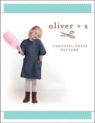 Carousel Dress 5 - 12 - PDF Apparel Pattern from Liesl and Co by Oliver And S