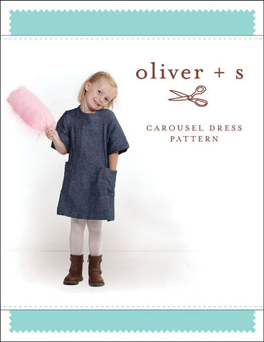 Carousel Dress 6m - 4 - PDF Apparel Pattern
