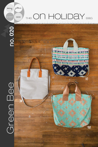 On Holiday Bag - Printed Accessory Pattern