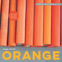 Simply Color Orange from Cozy Christmas by V and Co. for Lucky Spool