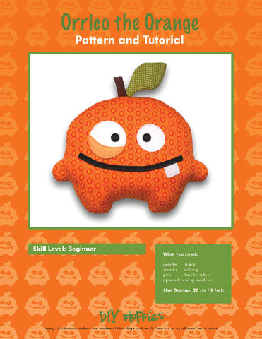 Orrico the Orange - PDF Accessory Pattern