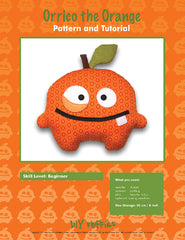 Orrico the Orange - PDF Accessory Pattern by DIY Fluffies
