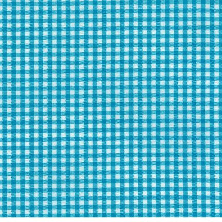 "1/8"" Carolina Gingham in Turquoise"
